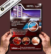 hotel travel flyer template v 1 indiater
