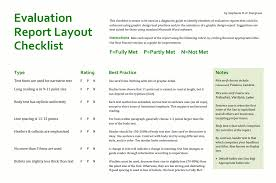 after event report template reports better evaluation