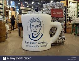 Coffee Mugs For Sale A Display Of Justice Ruth Bader Ginsburg Coffee Mugs For Sale At