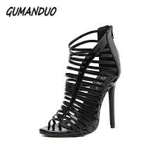 aliexpress com buy gumanduo new women gladiator high heels