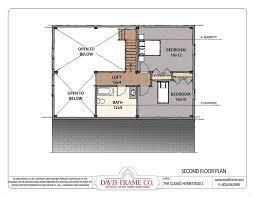davis frame company the classic homestead 1 home plan