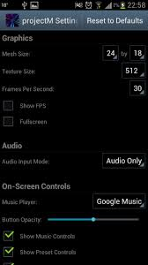 projectm music visualizer winamp nostalgia android app reviews