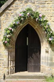 wedding flower arches uk the 25 best church wedding flowers ideas on pew