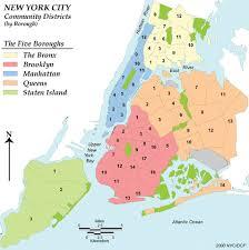 map ny city new york city community district map
