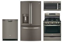 ge kitchen appliance packages ge slate french door refrigerator kitchen appliance package abt com