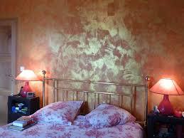 Peinture Chambre A Coucher by Peinture Stucco Chambre A Coucher D Co Chambre Orange Marron