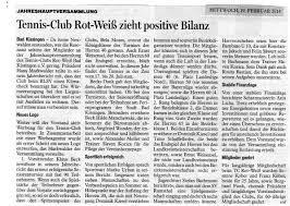 Bowling Bad Kissingen Tennis Club Rot Weiß Bad Kissingen E V Tennis Club Rot Weiß Bad
