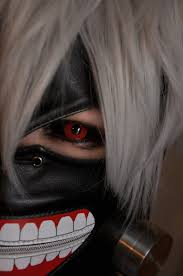 tokyo ghoul eye contacts on the hunt