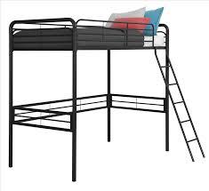 dhp furniture metal twin loft bed