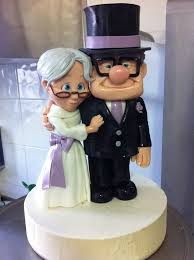 up cake topper marvelous disney up wedding cake topper between the pages