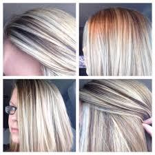 hair styles foil colours gradually taking dark to blonde step 2 full foil highlight my