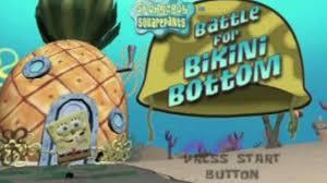 SpongeBob SquarePants  The Battle For Bikini Bottom   GameCube   IGN Pinterest