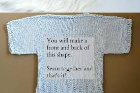 how to knit a sweater easy knit boxy t shirt pattern in a stitch