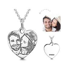 Personalized Photo Locket Necklace Photo Series Personalized
