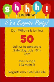 shhh it u0027s surprise birthday party invitation personalized party