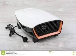 White Laminate Floor Electric Heater On White Laminate Floor Stock Photo Image 81201707