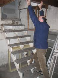 joe kolb basement steps no railing big vision loss u0026 personal