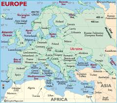 map ukraine of europe showing location of ukraine