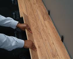 How To Lay Underlay For Laminate Flooring Laminate Flooring Basics By Bruce Flooring
