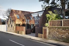 kew house piercycompany brilliantly fuses a new glass and steel