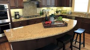 Design For Kitchen Island Countertops Ideas Attractive Kitchen Island Countertop Is Calcutta Marble With Eased