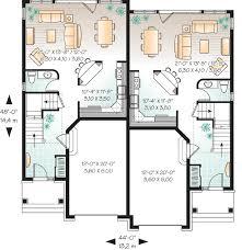 duplex narrow lot floor plans cool design 15 duplex house plans narrow lots lot duplex house plans