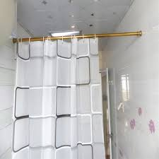 10 Inch Curtain Rods Amazing 39 59 Inch Stainless Steel Gold Shower Curtain Rod Shower