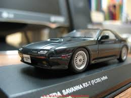 mazda rx 7 sa22c fc3s u0026 fd3s scale models arrived