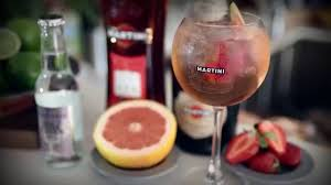 martini rosso martini rosato spritz how to mix drinks network youtube