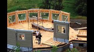 prefab homes construction september 2015 youtube