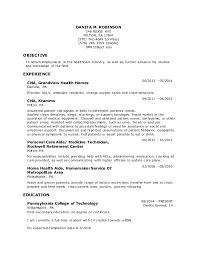 resume danita