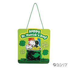 peanuts s day st s day rainbow sign craft kit