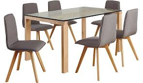Asda Direct Armchairs Winston Rectangular Dining Table And 6 Chairs Dining Tables