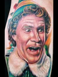 Buddy The Elf Meme - taturday elf tattoos smosh