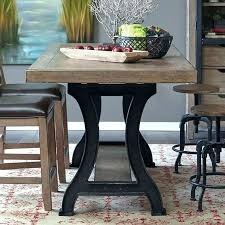 dining tables trestle table bases rustic counter height counter height table base idtworldwide co
