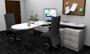 White Desk With File Cabinet by Modern Home Office Desk Furniture With L Shape Design Ideas Home