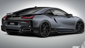 Bmw I8 Exhaust - german special customs previews their bmw i8 itron