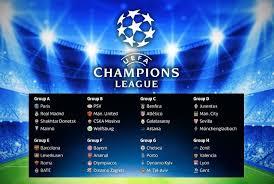 Jadwal Liga Chion Jadwal Babak Grup Liga Chions 2015 2016 Sbobet Indo
