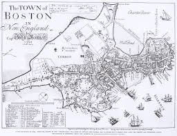 Freedom Trail Map Boston by My Boston Some Printing And Publishing History