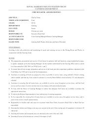 kitchen manager job description jobdescription