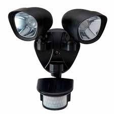 Led Security Lights Orbit Lighting Security Light Led Twin Security Lights Mitre 10
