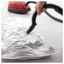Ikea Clothes Storage Bags Hajdeby Vacuum Sealed Bag Transparent 67x100 Cm Ikea