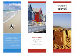 free travel brochure templates for microsoft word 9 free download