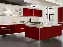 kitchen design magnificent red kitchen furniture black kitchen