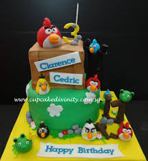 cupcake marvelous angry birds kuchen angry birds party favors