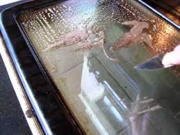 how to clean glass doors cleaning oven door glass without chemicals youtube