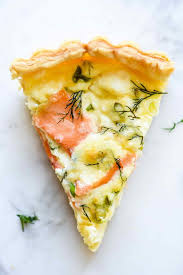 Quiche Blind Bake Or Not Puff Pastry Smoked Salmon And Crème Fraîche Quiche Foodiecrush Com