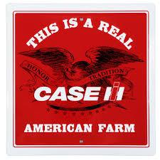 case ih american farm metal sign