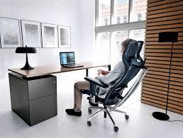 desk chair with headrest profim action executive ergonomic chair