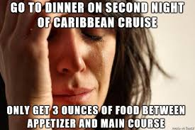 Cruise Meme - i thought cruises were supposed to have a lot of food meme on imgur